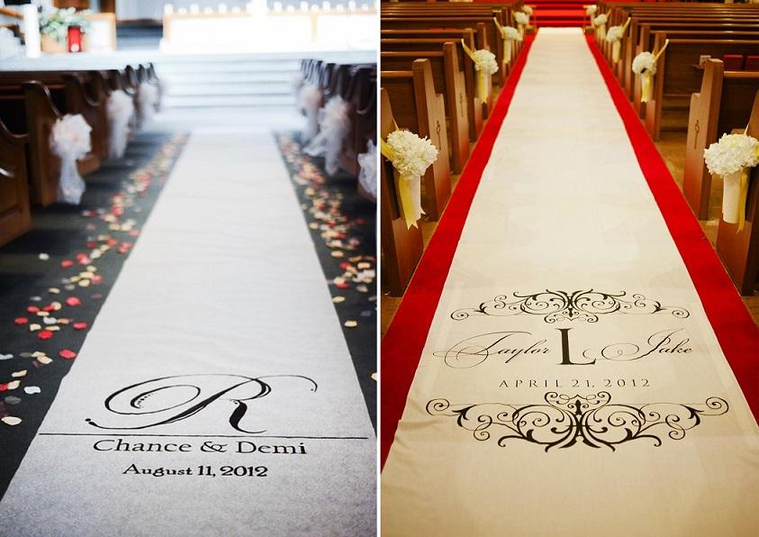 Дорожка знакомства свадебная